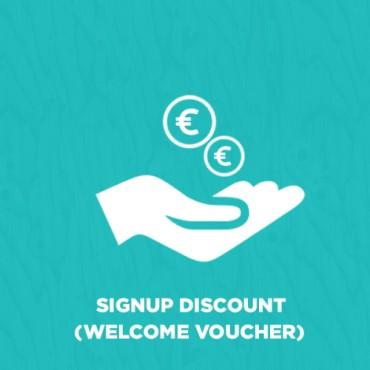 Prestashop Signup Discount (Welcome Voucher)