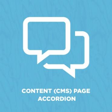 Prestashop Content (CMS) Page Accordion