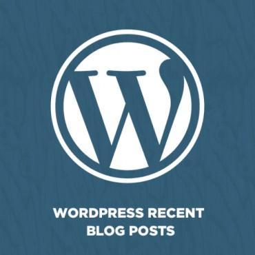 Prestashop WordPress Recent Blog Posts