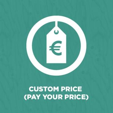 Prestashop Custom Price (Pay Your Price)